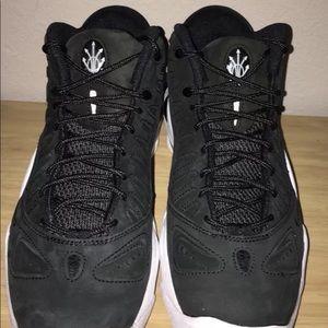 Nike Air Max Uptempo 97 Retro Black size 8 pippen NWT